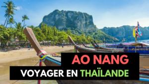 Ao Nang (Krabi) : Activités, Logement & Restaurants