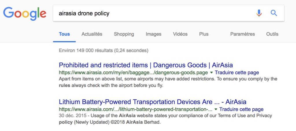 airasia drone