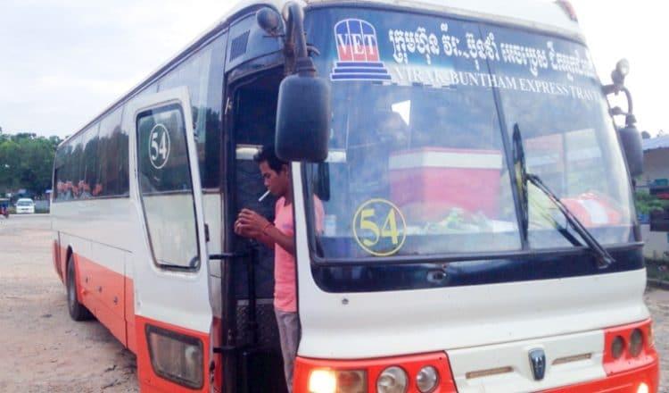 bus pour sihanoukville