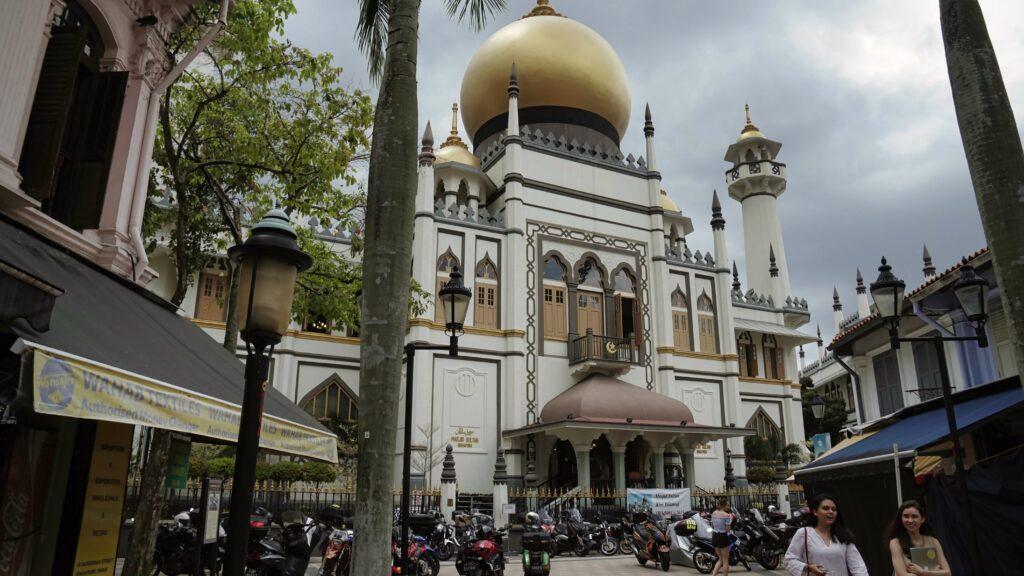 arab street mosquee